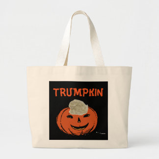 Funny Donald Trump Halloween TRUMPKIN Totes