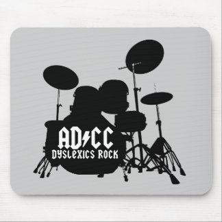 Funny Dyslexic Mouse Pad