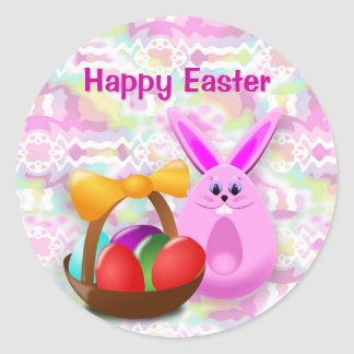 Funny Easter Sticker
