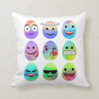 Funny Emojis, Easter Emoji Eggs, Emoticon Egg Cushion