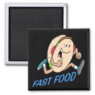 Funny Fast Food T-shirts Gifts Fridge Magnet