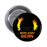 Funny Fiery Hair Bern Baby Bern Bernie Sanders 6 Cm Round Badge