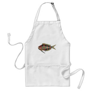 Funny Fish Striped Aprons