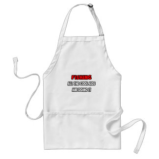 Funny Fishing Shirts and Gifts.png Aprons
