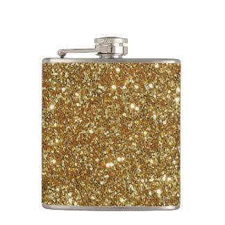 Funny Flasks Flask gold glitter