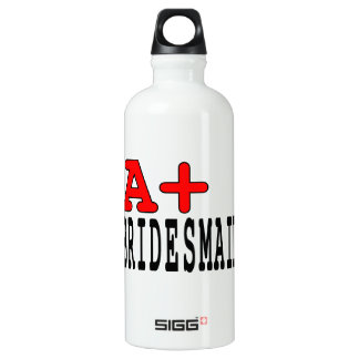 Funny for Bridesmaids : A+ Bridesmaid SIGG Traveller 0.6L Water Bottle