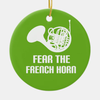 Funny French Horn Ornament
