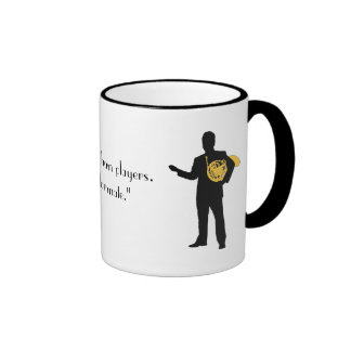 Funny French Horn Quote Mug