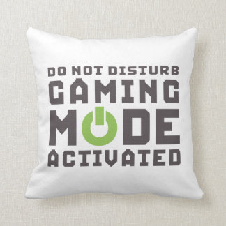 Funny Gamer Pillow for Video Games Geek Gaming Pro