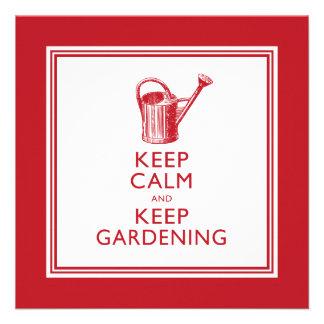Funny Gardener s Retirement Party Invitations