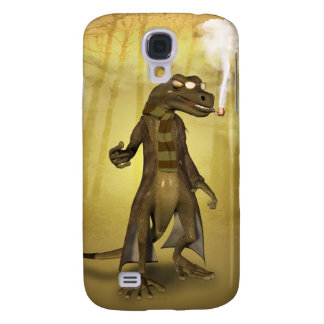 Funny gecko galaxy s4 case