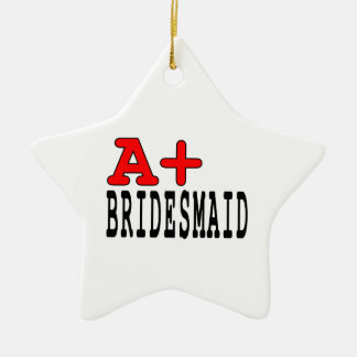 Funny Gifts for Bridesmaids : A+ Bridesmaid Christmas Ornaments