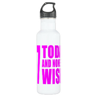 Funny Girls Birthdays  47 Today and None the Wiser 710 Ml Water Bottle