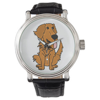 Funny Golden Retriever Watch