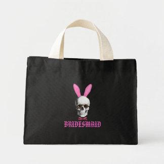 Funny gothic bridesmaid bag