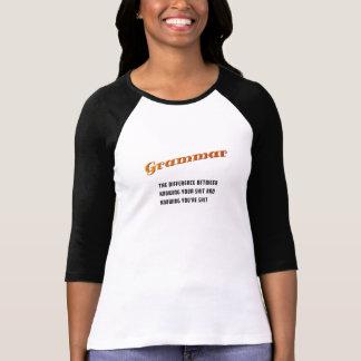 Funny Grammar T-Shirt