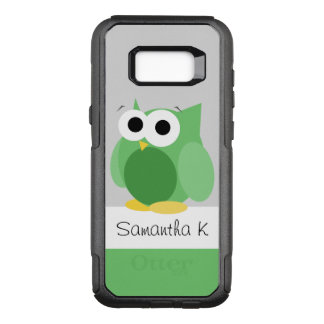 Funny Green Owl Samsung Galaxy S8