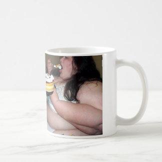 Funny Gross out Fat Slob Comedy Coffee Mug