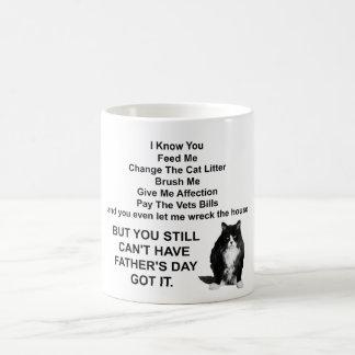 Funny Grumpy Cat Father's Day Mug