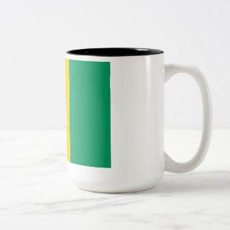 Funny Guinea Fowl Flag Mug