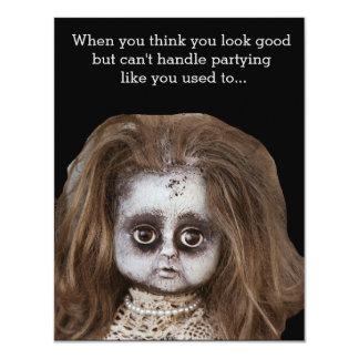 Funny Halloween Party Invitations