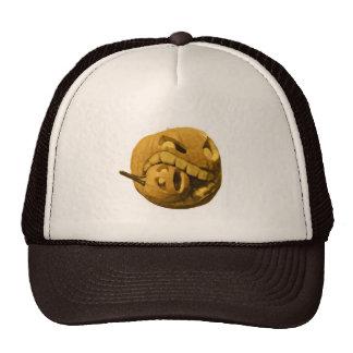 Funny Halloween Pumpkin Head Trucker Hat
