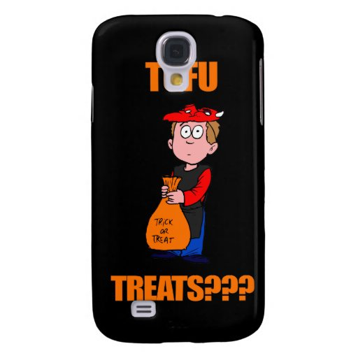 Funny Halloween Trick or Treat Samsung Galaxy S4 Case