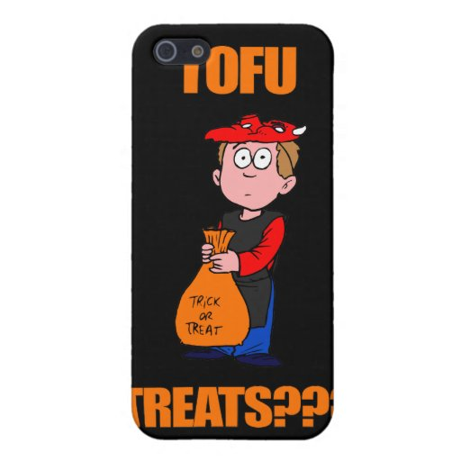 Funny Halloween Trick or Treat iPhone 5 Covers