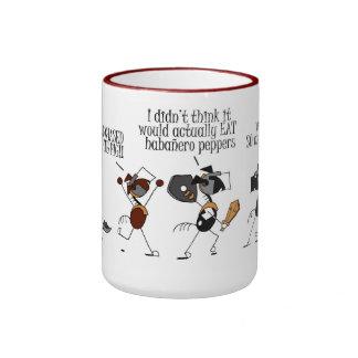 Funny Horse & Fire Breathing Pig Cartoon Mug