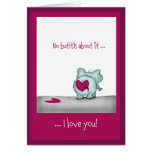 Funny humourous Valentine' s Day Greeting Card