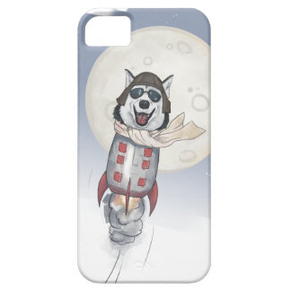 Funny Husky Pilot iPhone 5 Covers