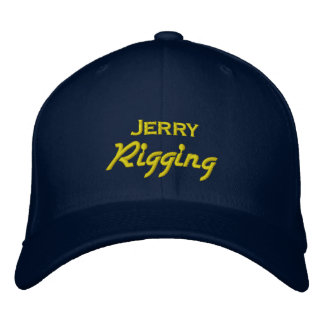 Funny Jerry Rigging Embroidered Hats