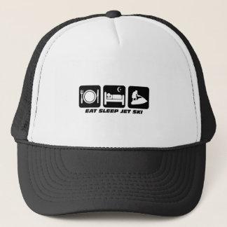 Funny jet ski trucker hat