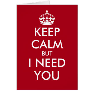 Funny Keep calm Will you be my bridesmaid cards