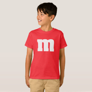 Funny kids M and M candy shirt