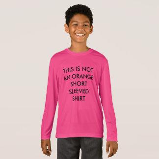Funny Kids NOT Orange Short Sleeved Shirt