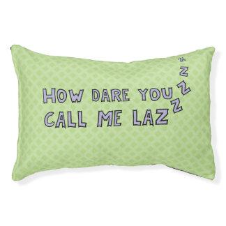 Funny lazy dog dog bed