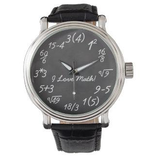 Funny Math Geek Watch