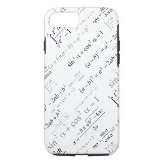 Funny Mathematics Formulas Math Geek iPhone 8/7 Case