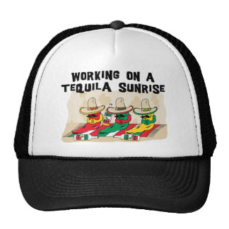 Funny Mexican Tequila Sunrise Cap