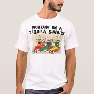 Funny Mexican Tequila Sunrise T-Shirt