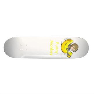Funny Monkey Custom Skateboard