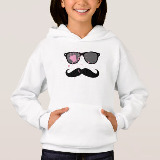 Funny Moustache and Sunglasses