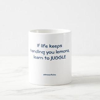 Funny mug: If life keeps handing you lemons... Coffee Mug