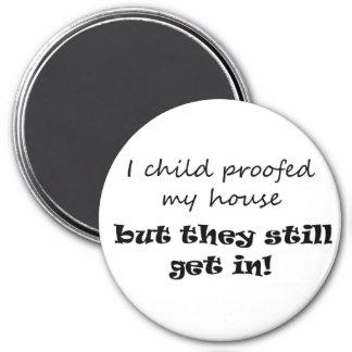 Funny mum gift ideas parenting joke fridge magnets