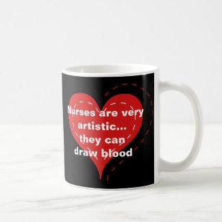 Funny Nurse Theme Coffee Mugs