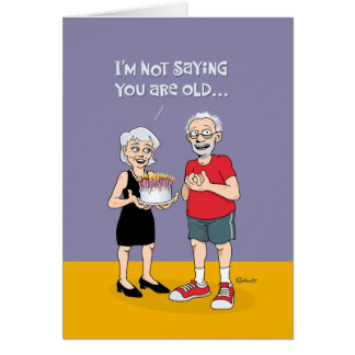 "Funny ""Over the Hill"" 75th Birthday Card"