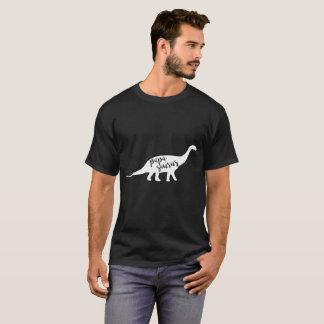 Funny Papa Saurus Dad Dinosaur T-Shirt
