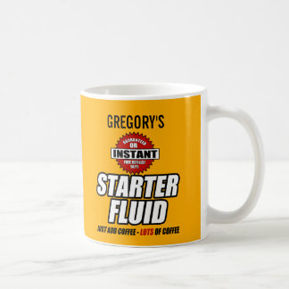 Funny Personalised Starter Fluid Coffee Mug