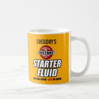 Funny Personalised Starter Fluid Coffee Mug